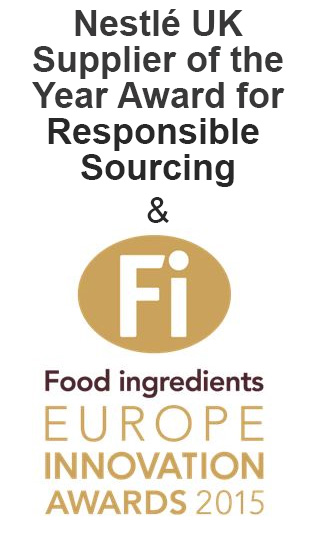 Nestle Supplier of the Year and FIE Innvovation Award