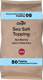 sea salt topping