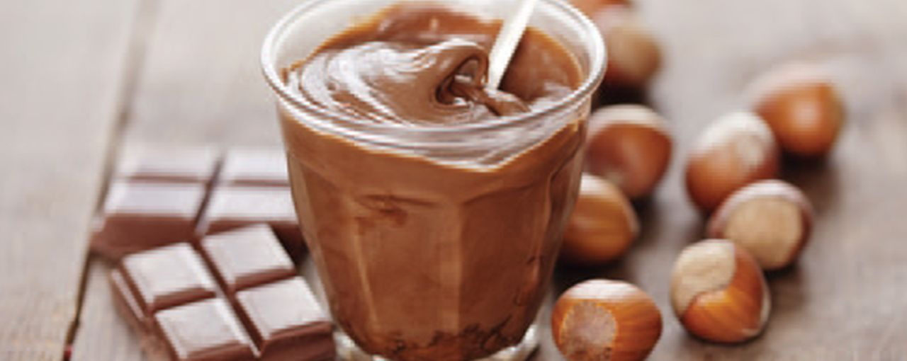 Chocolate with Hazelnut Paste