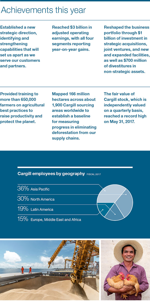 Cargill 2017 achievements