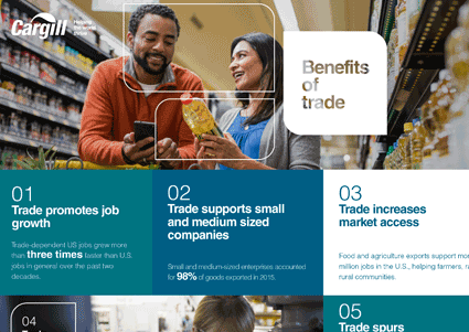 Benefits of trade preview