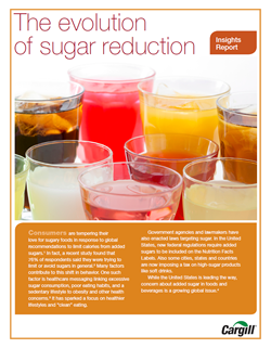 Sugar Reduction Insights Report