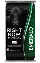 right now mineral emerald