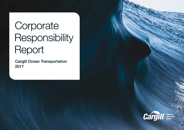 Cargill's Ocean Transportation Report