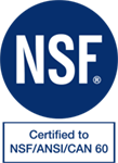 NSF logo for water