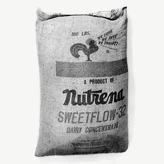Bolsa de alimentos de Nutrena Mills