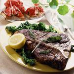 Steak dinner. Cargill.