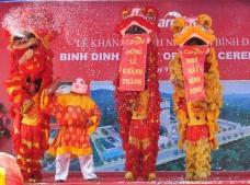 Binh Dinh Plant opening ceremony. Cargill Vietnam.