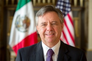 Mexican Ambassador, Eduardo Medina-Mora.