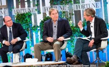 Fortune Brainstorm Green 2014 panel. Cargill.