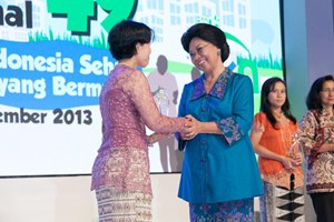 Indonesia's prestigious annual National Health Day celebration.