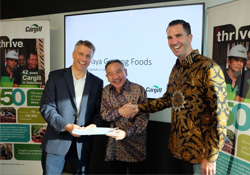 Cargill enters partnership with Japfa for poultry products in Indonesia.